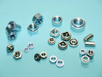 Self-locking threads Nuts, Nuts with Nylon Insert